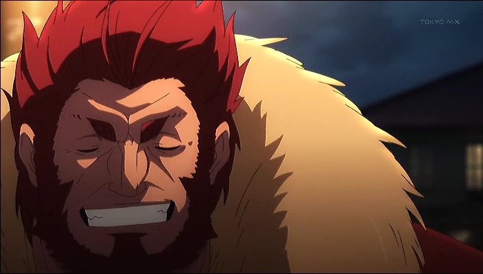 King Nameless Castle's - Página 2 Iskandar-Fate-Zero-Laugh