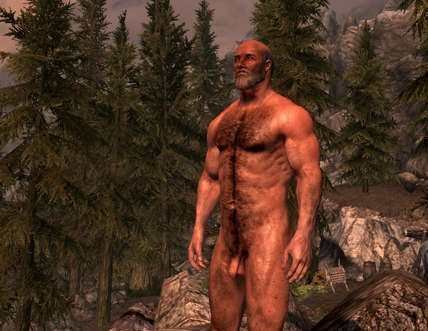 The Skyrim nude patch thanks