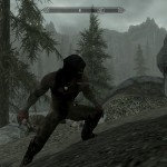 Skyrim Nude Orc stance