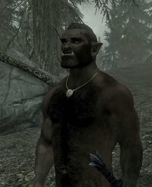 orc naked skyrim sexy