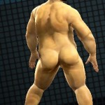 chubby nude back