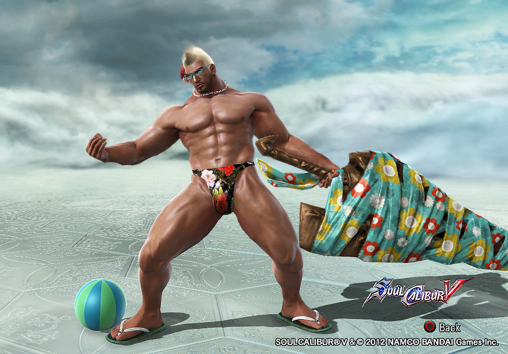 Soul calibur naked males