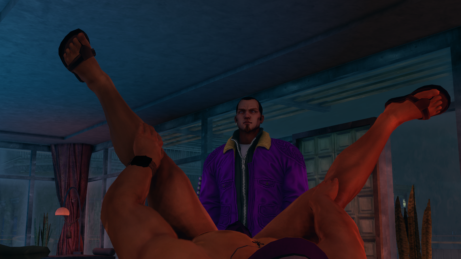 Nude tit saints row sexy scene
