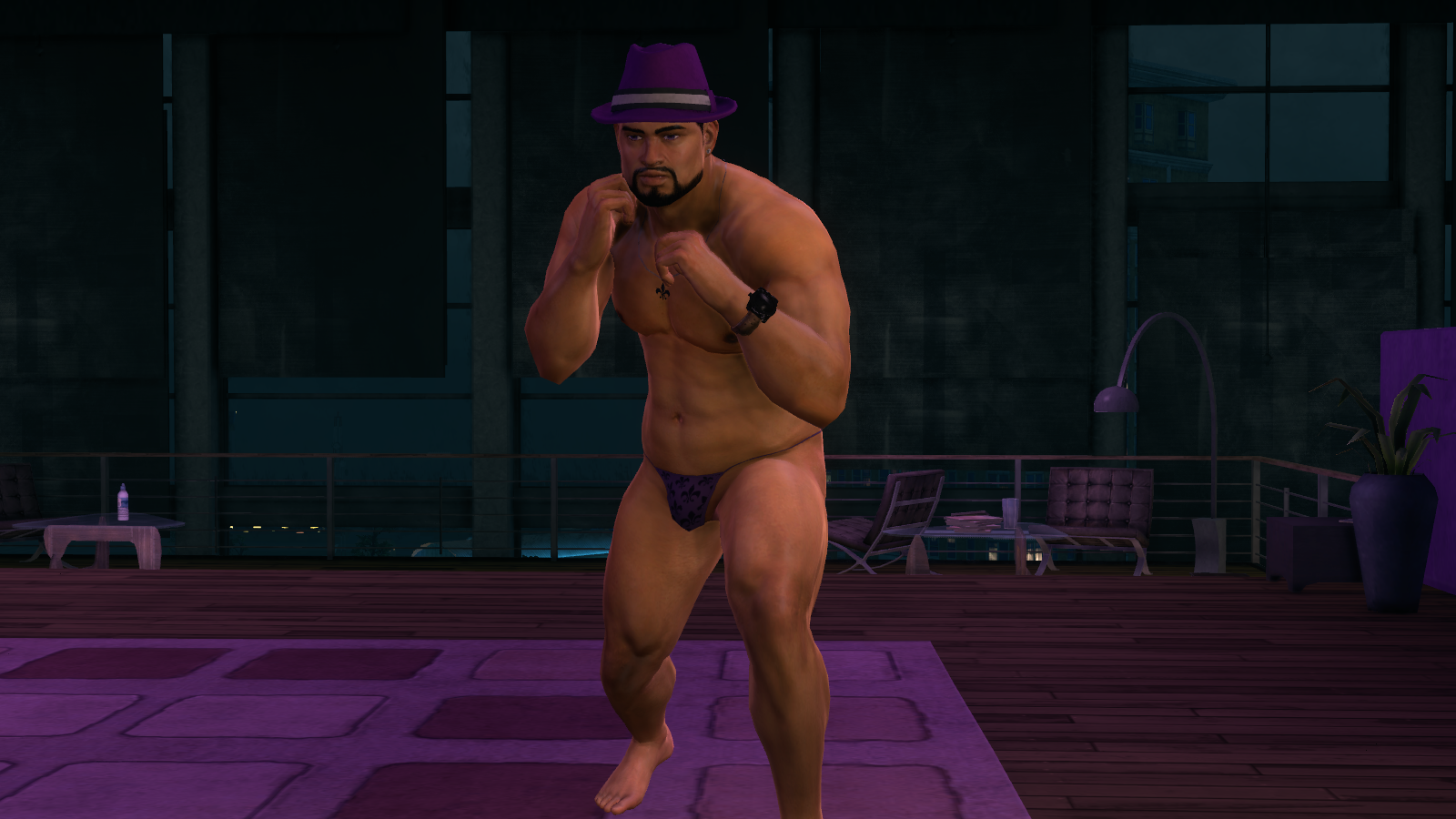 Naked stripper cheat saints row 2