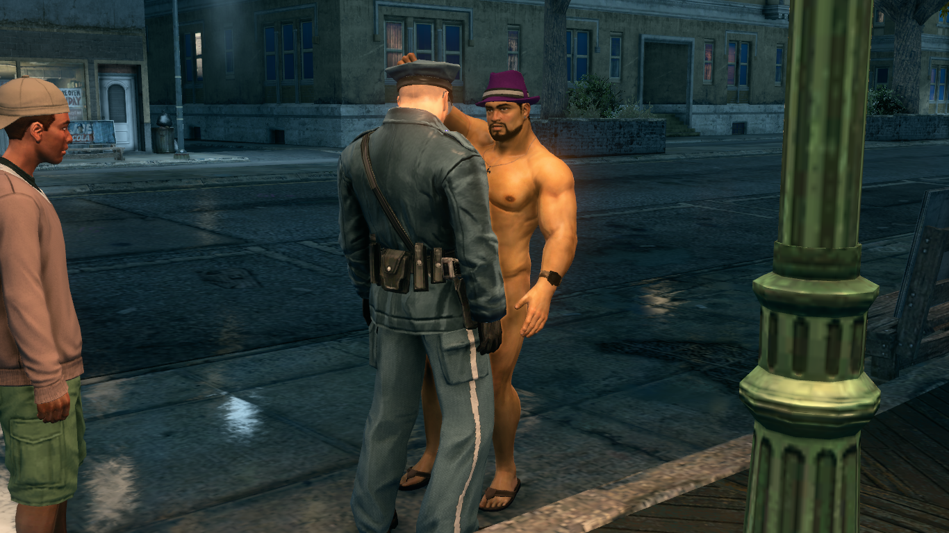 Saints Row 3 Public Nudity And Nude Mod Baragamer