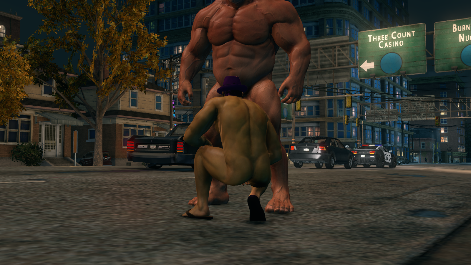 Saints row 2 nude unblurred glitch fucked pictures