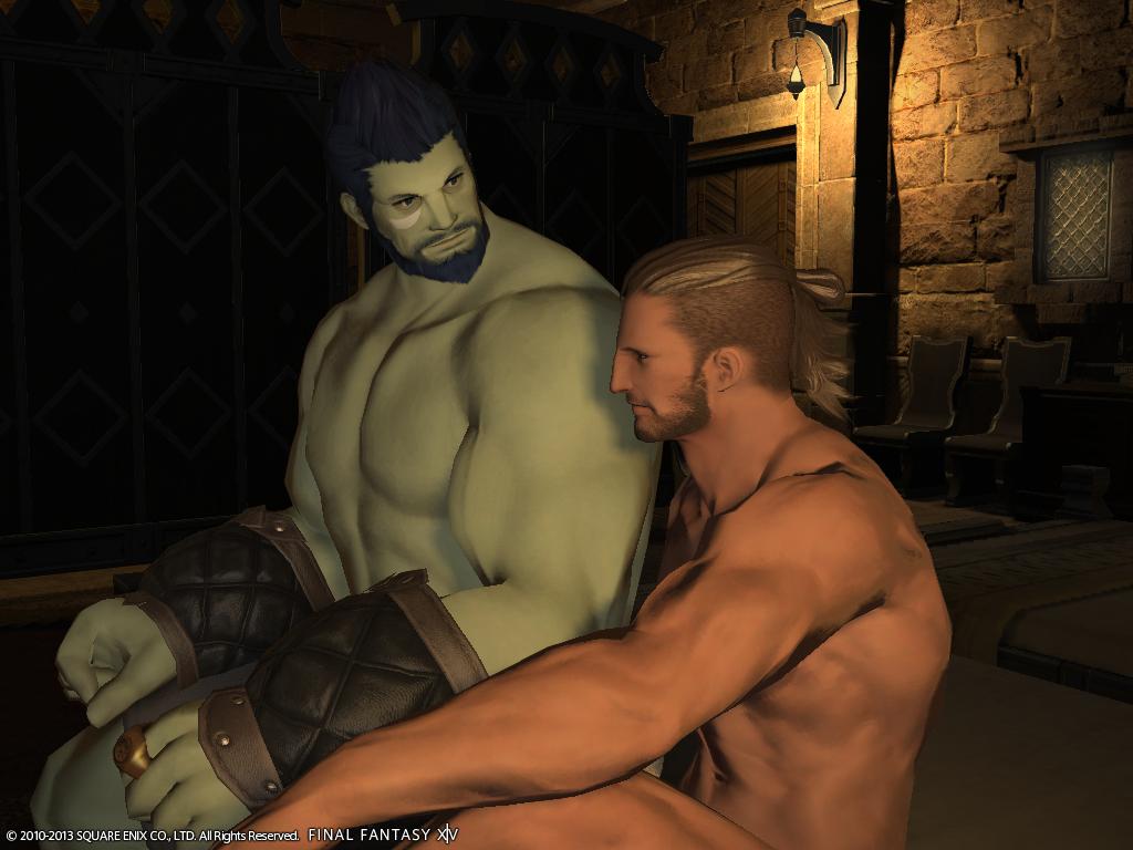 Eorzea gay porn