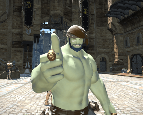 FFXIV Selfies