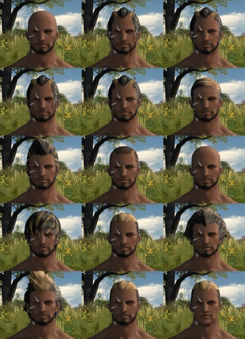 Hyur Faces