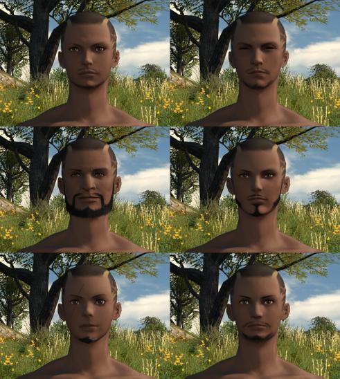 Hyur Midlanders Face