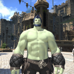 Roegadyn Shirtless