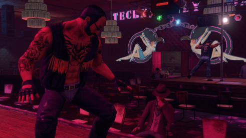 Male Strip Club Saints Row 3