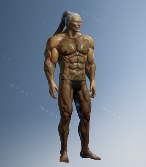 Saints Row 4 Body Hair mod