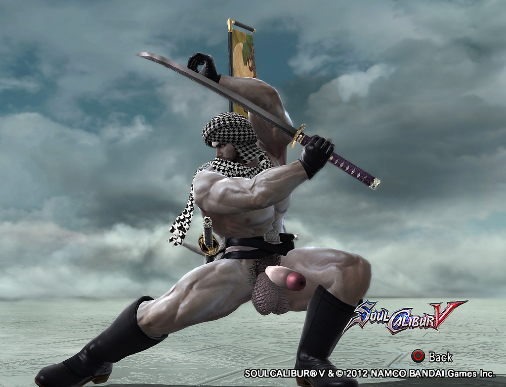 Animated Soul Caliber Porn dick and balls accessories for soul calibur 5 character